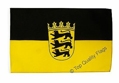 "Germany Baden-Württemberg Banner 30x45cm – 18""x12"" Small Flag"