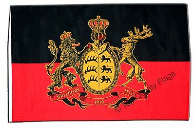 "Germany Württemberg Banner 30x45cm – 18""x12"" Small Flag"
