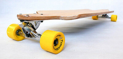 New longboard complete drop down Through THRU cruiser downhill skateboard W deck