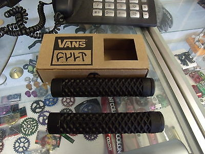 Cult Bikes Vans Flangeless Black Bmx Bicycle Scooter Fixed Grips