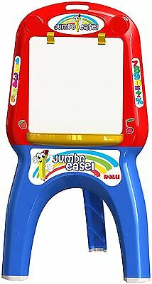 Dolu My First Foldable Jumbo Magnetic White Drawing Board Easel For Childrens