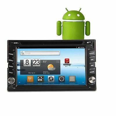 TS 2 Din Car PC Stereo DVD/CD/MP4 Player Android 6.2 Inch  512MDDR3 WIFI 1080P
