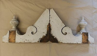 Antique Shabby Wood Victorian Corbels Roof Brackets Vintage Country Chic 3120-14