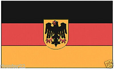 Huge 3' x 5' High Quality Germany With Eagle Flag - Free USA / Canada Shipping