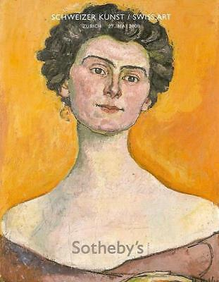 Sotheby's Schweizer Kunst / Swiss Art Auction Catalog 5/27/08