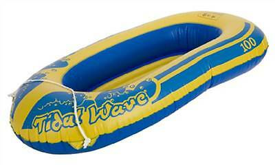 """Wild N Wet Tidal Wave Kids Fun Beach Toy Dinghy Inflatable Boat Raft Dinghy 45"""""""
