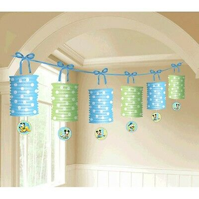 Disney Baby Mickey Mouse 1st Birthday Party Paper Lantern Garland Decoration