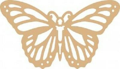 Pronty Home Deco MDF OPEN BUTTERFLY 461.958.701 Approx 30cm x 18cm