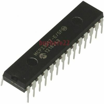 Microchip expander; 16bit I//O port; I2C; D IC 3pcs MCP23017-E//SP