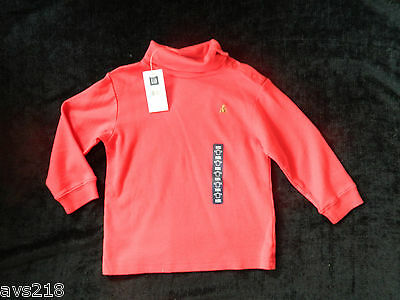 New with Tags Baby Gap Boys Toddler Shirt Top size 2T 2 years Red
