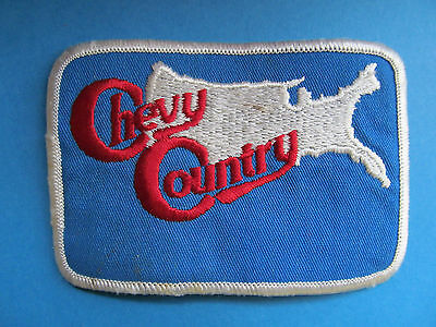 Chevrolet General Motors GM Chevy Country Patch Auto Crest