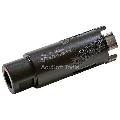 "1-3/8"" Dry Diamond Core Drill Bit - Granite Marble Hole Saws-TLDB015A"