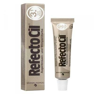 Refectocil Dye Light Brown Eyelash and Eyebrow Professional Tint 15ml Tinting