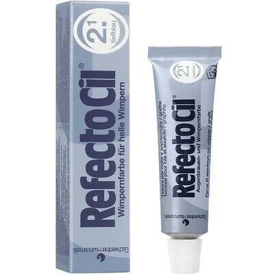 Refectocil Dye Deep Blue Eyelash and Eyebrow Professional Tint 15ml Dye Tinting
