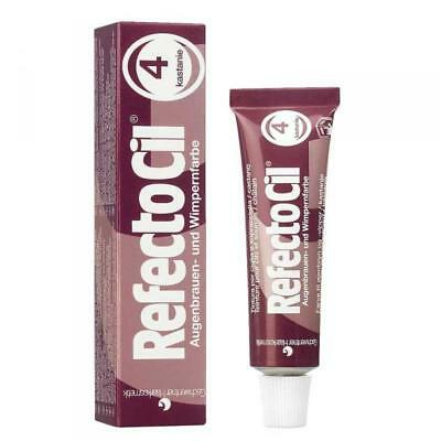 Refectocil Dye Chestnut Eyelash and Eyebrow Professional Tint 15ml Dye Tinting