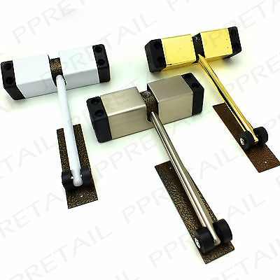 SURFACE MOUNTED AUTOMATIC DOOR CLOSER ~BRASS/WHITE/CHORME~ Auto Spring Closing