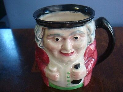 Genuine Shorter & Son  Porcelain Toby Jug.great Collectable