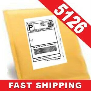 2,000 Half-Sheet Internet Shipping Labels for eBay/USPS