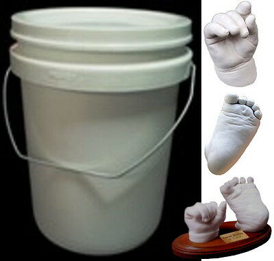 2kg WHITE Casting Stone...Used in Baby Casting Kits as well as Larger Projects