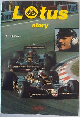 Lotus Story Patrick Camus Car Book