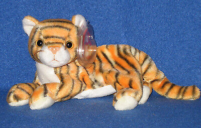 TY INDIA the TIGER  BEANIE BABY - MINT with MINT TAGS
