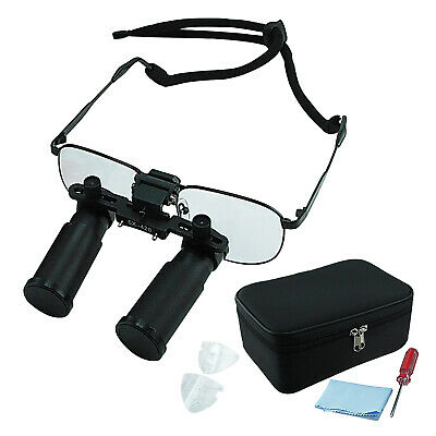 New 6.0x Medical Binocular Dental Loupes Optical Glass Surgical Dentistry Frame