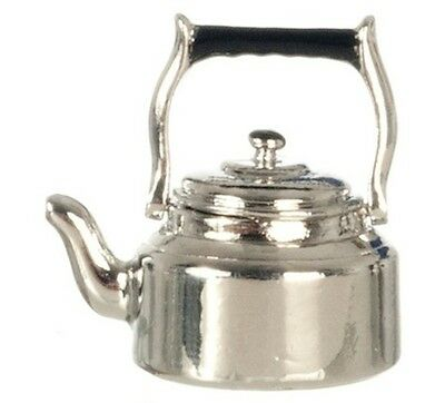 1//12 dolls house miniature Old Kettle Stove pot oven Tea coffee fireplace LGW