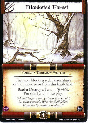 Blanketed Forest L5R CCG Ivory Edition IvE IE  FOIL