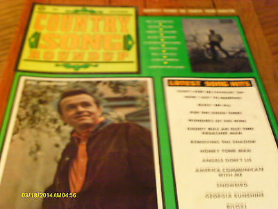 Bill Anderson Covers Country Song Roundup Magazine December 1970 Roger Miller