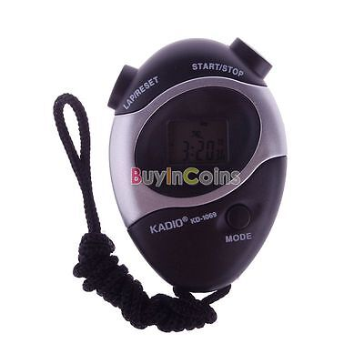 Waterproof Second Chronograph Timer Stopwatch Counter Digital Odometer New BA 05