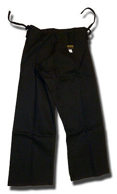 Shogun black karate trousers/pants -  for karate only NOT to be used for JUJITSU
