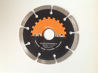 "115Mm 4.5"" Diamond Cutting Disc Angle Grinder Blade Grinding Stone Brick Cutting"