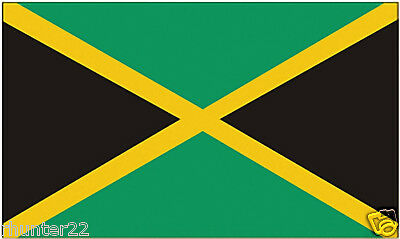 Huge 3' x 5' High Quality Jamaica Flag - Free Shipping