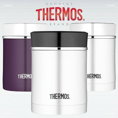 Thermos Premium Stainless Steel Vacuum Insulated Food Flask 0.47L