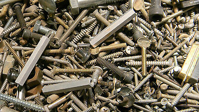Mixed lot Bolts, Nuts, Screws 25 lbs
