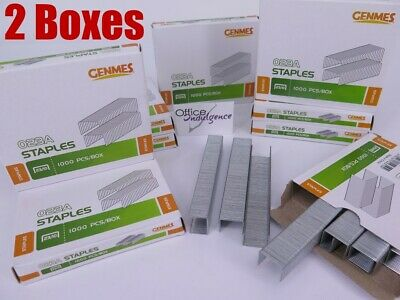2 x Osmer 23/10 10mm Leg Heavy Duty Staples (2x1000/Box) 2310 ^