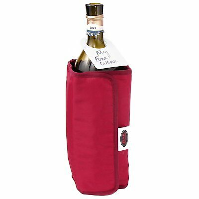 DUAL WRAP Wine Bottle Chiller Cooler and Warmer for Red Rose White Wines Picnic