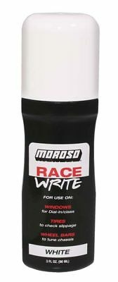 Moroso 35581 Race Write - White - Dial In Marker &  Checking Tire Slippage
