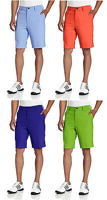 Adidas Golf Men's Climalite Flat Front Short Golf Shorts - Multiple Colors