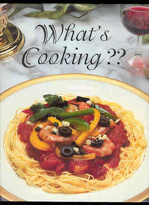 What's Cooking ?? Volume 2 Recipe Book Appetizers Desserts Meals Main Courses