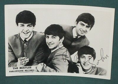 The Beatles Parlophone Records Promotional Cards Original 1963 New Zealand