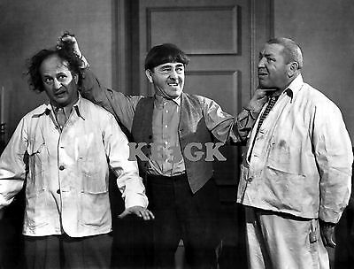 3 Stooges *  Large 13 x 19  High Quality Print * Classic Stooges