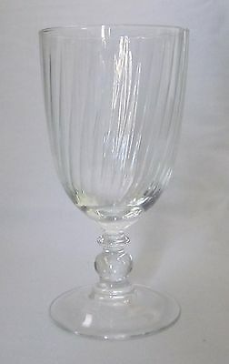 Iced Tea Glass Goblet Cristal D'Arques Luminarc Country Manor Clear