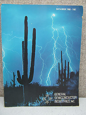 General Semiconductor Industries Data Book, 1980-1981,