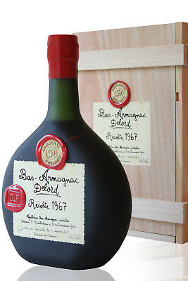 BAS ARMAGNAC DELORD 1967 - BOUTEILLE 70cl