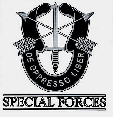 Army Special Forces Decal Sticker