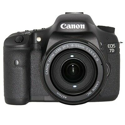 Canon EOS 7D Digital SLR Camera w/EF-S 18-135mm f/3.5-5.6 IS Lens