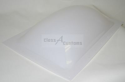 17 x 25 rv Exterior replacement SKYLIGHT WHITE plastic roof trailer 1725-ESK-WH