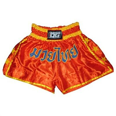 LITE RED SHORTS TRUNKS FOR MUAY THAI SPORTS TRAINING (Kids - Adults)