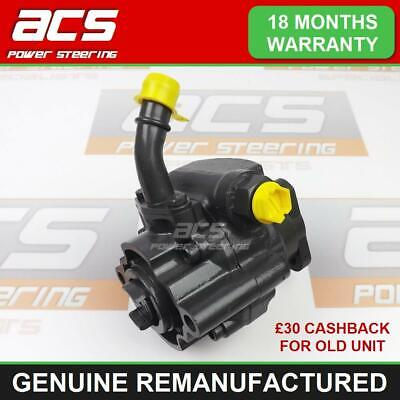 Power Steering Pump Land Rover Discovery 2 Td5 1998 - 2005 Genuine Reconditioned